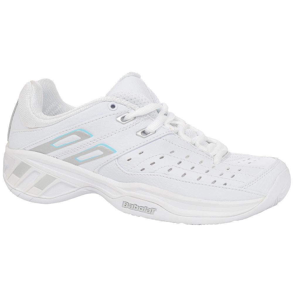 Babolat Double Line Lady Baskets Chaussures de tennis sport blanc S87701 SALE