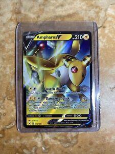 Ampharos V 2020 Pokemon Ultra Rare 049/185 Card