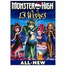 Monster High: 13 Wishes (DVD, 2013)