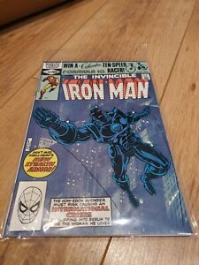 The-Invincible-Iron-Man-152-1st-app-stealth-armour-Marvel-Comic-book-1st-print