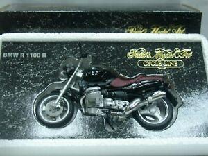 Wow Extrêmement Rare Bmw R 1100 1996 Noir 1:24 Minichamps-r1100rt / gs / r32