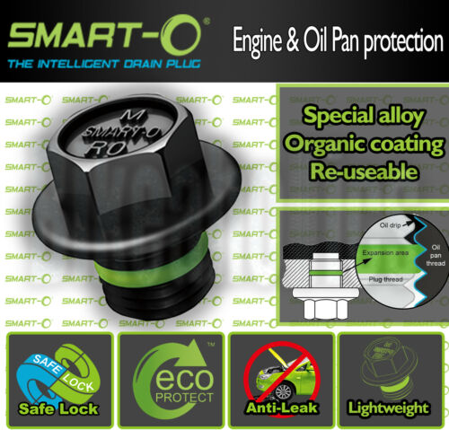 sump SYM XS 125 K M12X1.5 12mm The ORIGINAL Smart-o Oil Drain plug 2010
