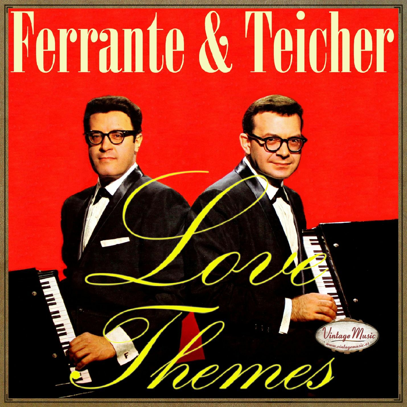 ferrante teicher cd vintage dance orchestra love themes my
