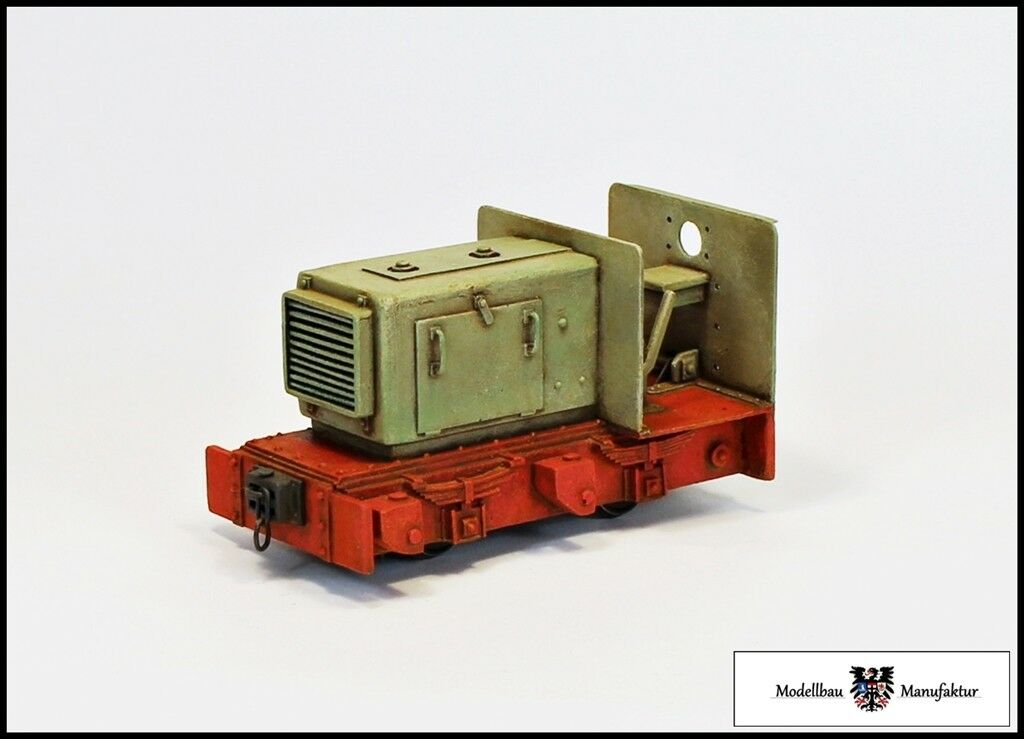 Tren de campo, gran locomotora diésel-pista 1f