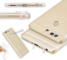Cover Ultra Fina 0.3mm Custodia TPU Silicone Trasparente 100% per Huawei Honor 8