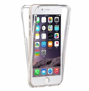 Coque-iphone-7-7-plus-6-6s-5g-5s-5c-silicone-gel-integrale-avant-arriere