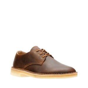Anuncio liberal fragancia  Clarks Desert Crosby Beeswax shoes Leather 26133710 Medium | eBay