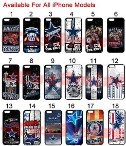 quality design ba989 4ab69 Details about Dallas Cowboys iPhone 6s iPhone 6 iPhone 7 7+ Case iPhone x  5s 8 8+ Plus Case