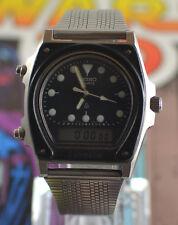 Vintage Mens Seiko Silverwave Analog Digital RARE Watch H449-5040 JDM Model