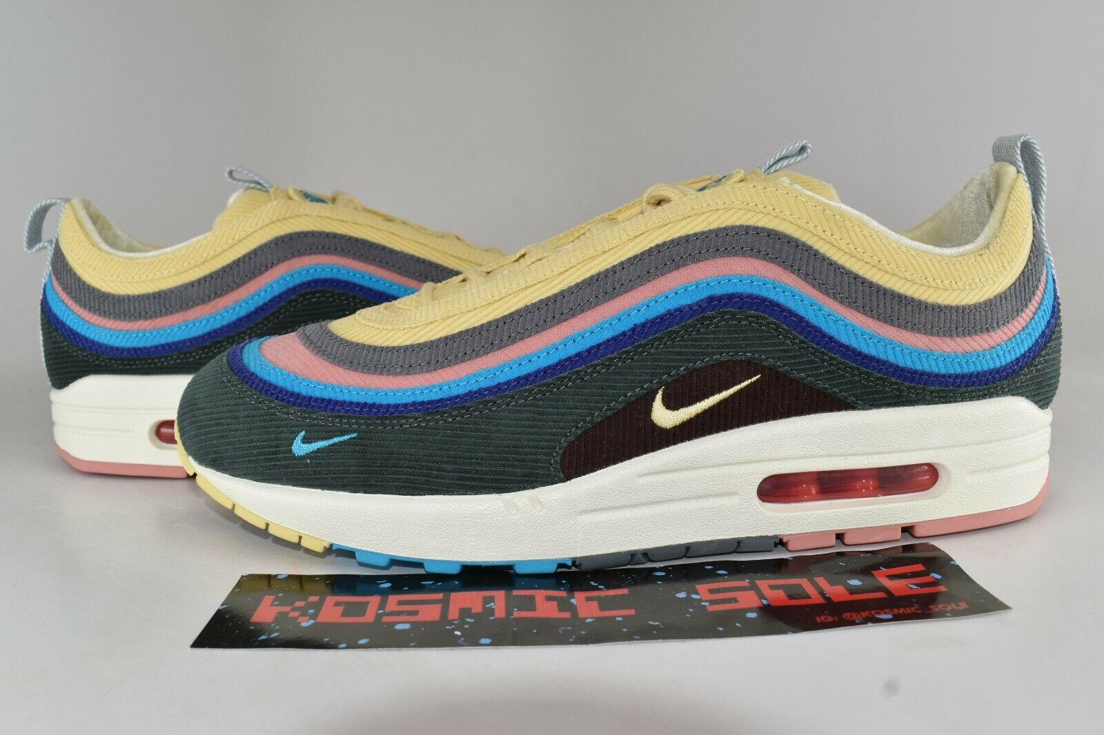 Nike Air Max 1 97 Sean Wotherspoon Style AJ4219-400 Size 10.5