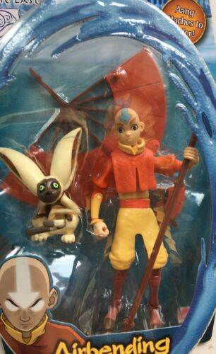 "5/"" Avatar the last airbender Airbending Aang Action figure Glider Water Series"