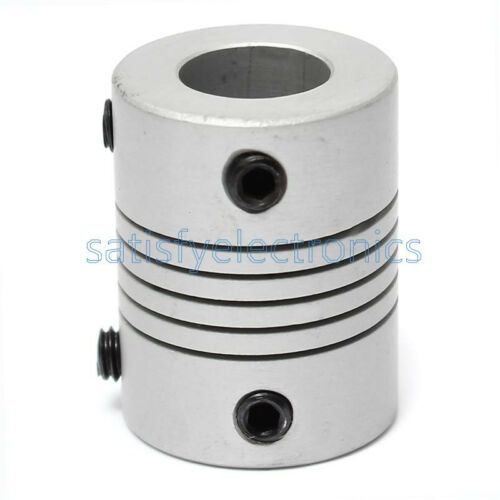 D19L25 Flexible Shaft Coupling CNC Stepper Motor Coupler Connector 3-10mm NEW