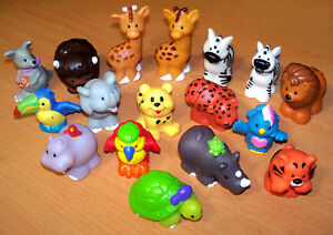 Fisher Price Little People Zoo Jungle Ark Replacement Animals Your Choice Ebay