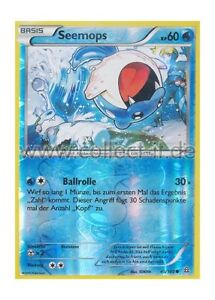Protoschock 15//160 Knilz Pokemon XY Reverse Holo Deutsch