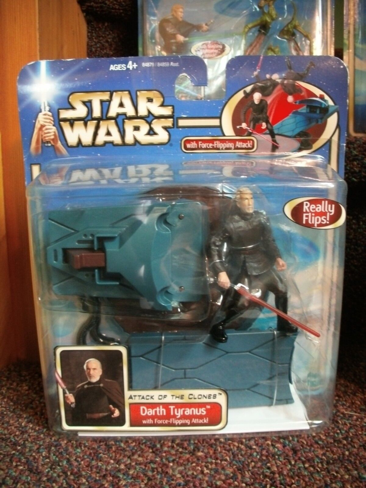 STAR WARS SAGA AOTC ATTACK OF THE CLONES DELUXE ACTION FIGURES CHOICE  ~ MISB