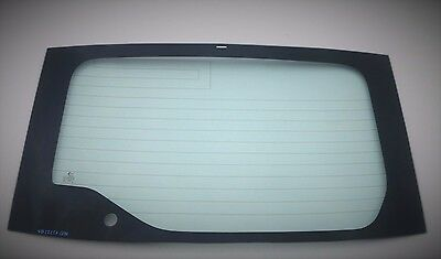 Fit 10-15 Toyota Prius Hatchback Lower Rear Back Window Glass Heated OEM Look
