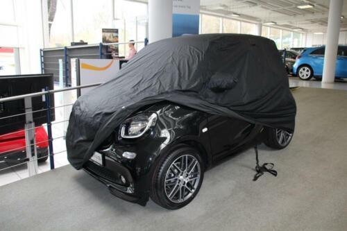 Winter Ganzgarage Car-Cover Vollgarage Anti-Frost mit Spiegeltaschen für Smart