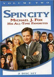 Brand-New-DVD-Spin-City-Michael-J-Fox-039-s-All-Time-Favorites-Vol-2-1996