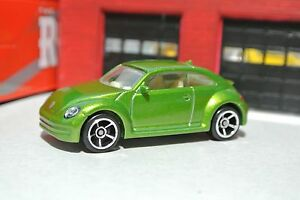 Lime Green Hot Wheels VW Beetle Bug 1:64 Loose