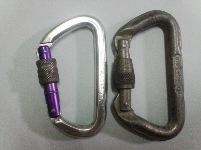 2 pcs vintage climbing D-ring hook Professional Safety