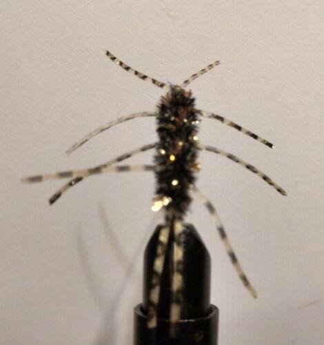 gold-black legs,Hot item! Sold per 3 size 6 Black//Gold Pats Rubber Leg/'s
