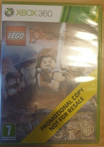 Lego lord of the rings, Xbox 360