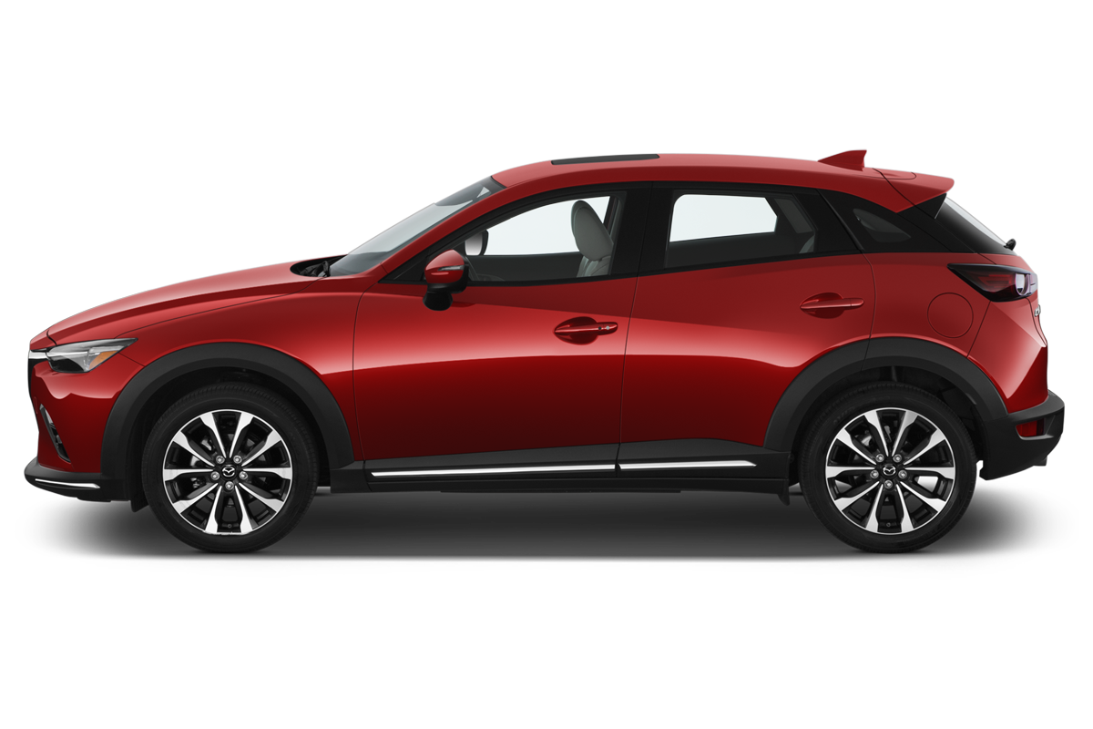 Mazda CX-3 side view
