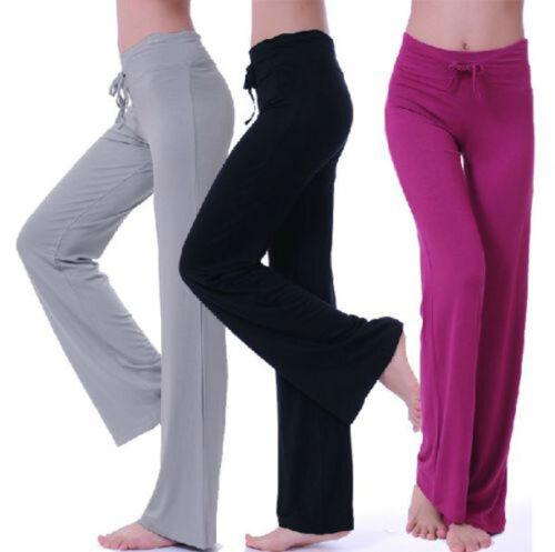 Gym Modal Soft Leg Pants Athletic Leggings Women Yoga Sports Wide 6tHq5dHxw