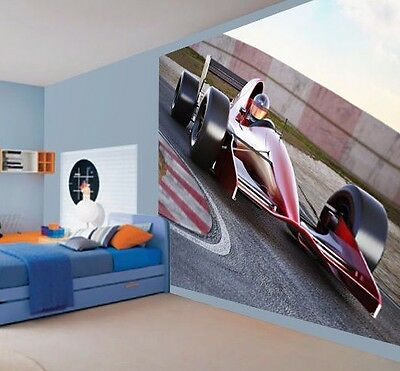 F1 Formula 1 racing car on the track wallpaper wall mural 3053522