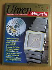 Uhren-Magazin Nr. 4 1994 - Uhren Zeitschrift, Uhrenheft, Magazin