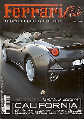 2019 Nieuwe Stijl Ferrari Club 17 2009 Essai Ferrari California Ferrari 212 Export Motto 1951 Chinese Smaken Bezitten
