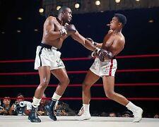 CASSIUS CLAY(ALI) VS SONNY LISTON 2/25/64 IST FIGHT COLOR 8X10 SUPER