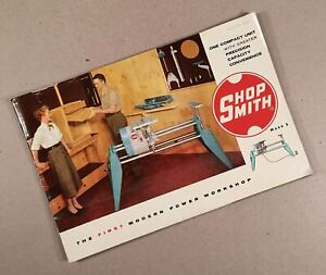 1954-MAGNA-ENGINEERING-CORP-SHOPSMITH-MARK-5-V-Brochure-20-Pages-Very-Early