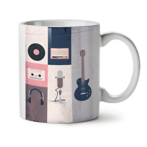 Vintage Instruments NEW White Tea Coffee Mug 11 oz | Wellcoda