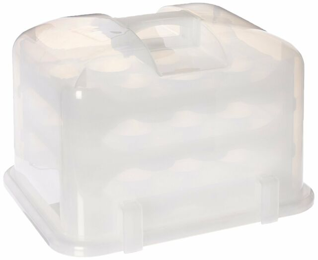 36 Cupcake Carrier Custom The Cupcake Courier G60b 60cupcake Carrier White Translucent EBay