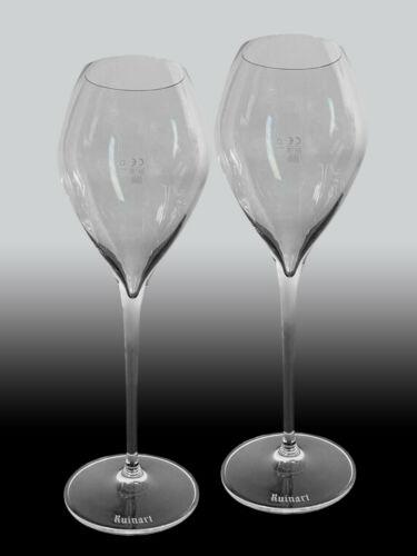 bauchig 2 Ruinart Champagner Gläser
