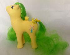 My Little Pony g1/flutter Ponies/vento Drifter/vento INGRANAGGIO/Pat. rilevamenti/1986