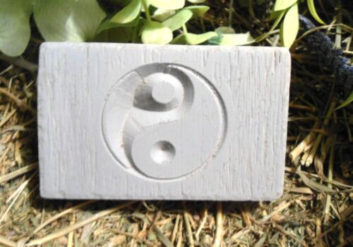 Small yin yang mold  plastic mold plaster wax resin soap cement