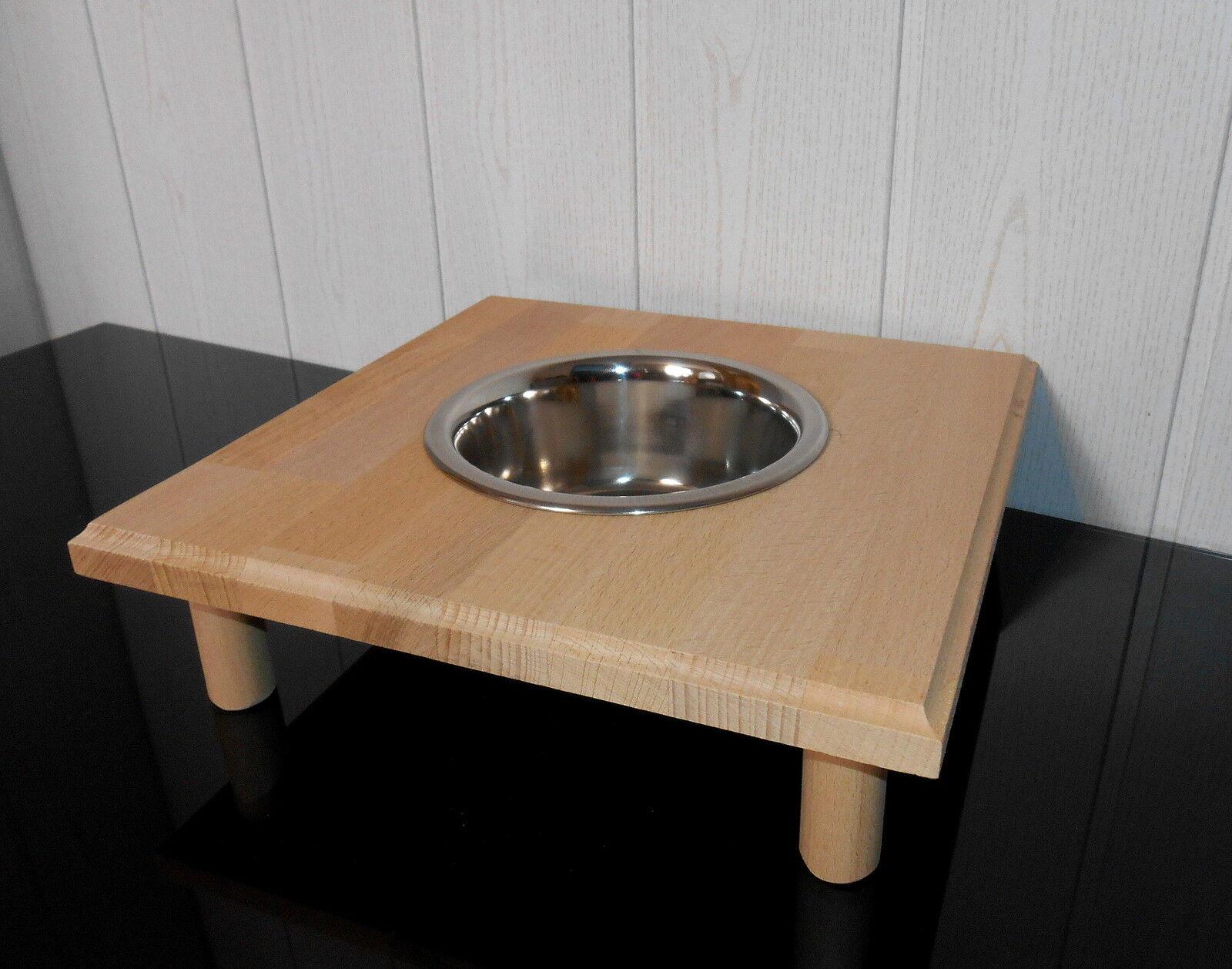 Buche-Holz   Futterbar, Napf, in natur, Gäste Gartenbar  Futterstation (207)  | Zu einem niedrigeren Preis