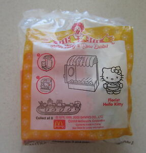 Hello-Kitty-McDonald-039-s-Florist-kitty-still-in-original-packaging-very-collect
