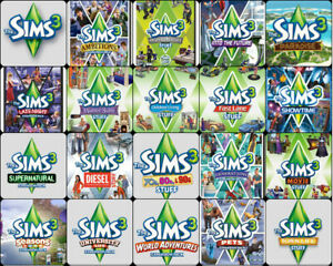 The-Sims-3-Complete-Collection-amp-ALL-Expansions-Windows-ALL-Packs