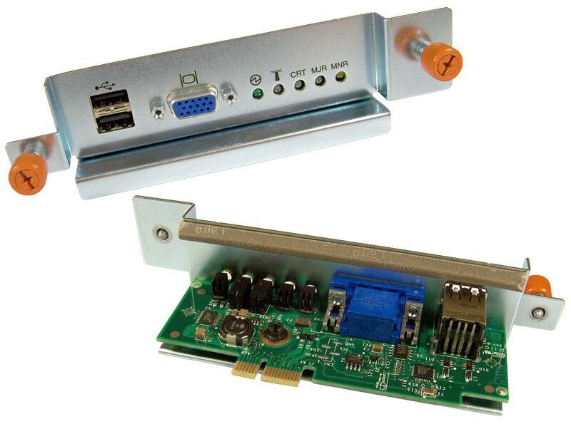 IBM 81Y1739 MT-8267 BCTL KVM Card Assy New 81Y1798 card with Bracket 81Y1724