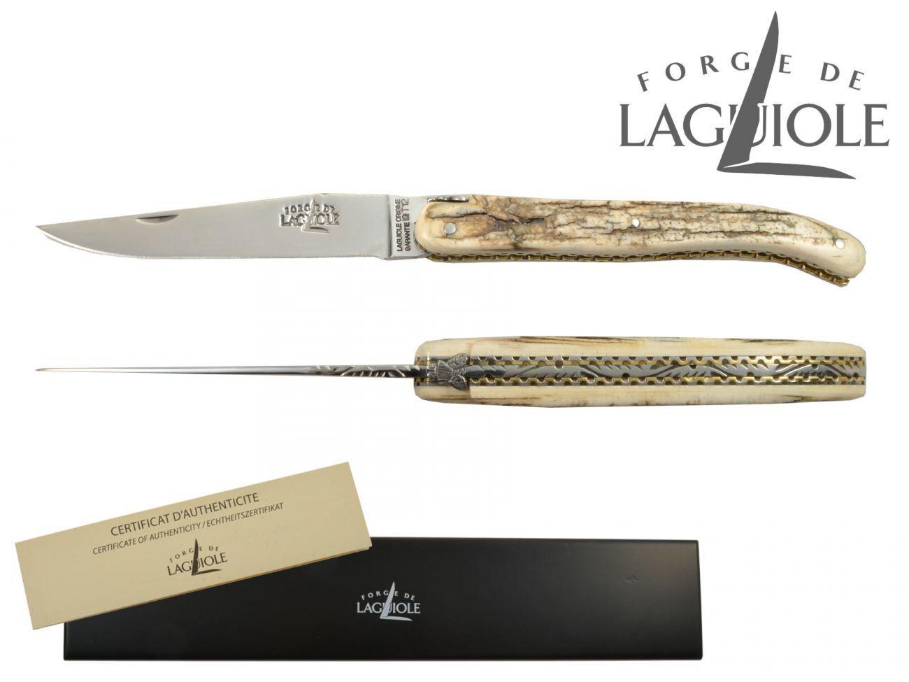 Forge de Laguiole Laguiole Laguiole Taschenmesser 11 cm Mammut Doppelplatine 1011F I MAM BRI 924521