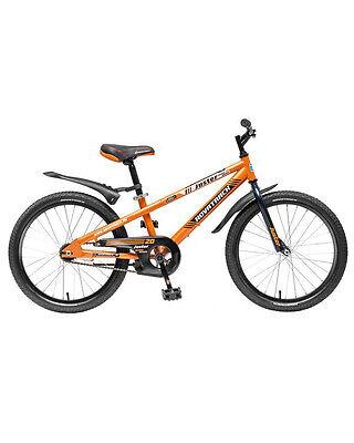 """Велосипед Juster оранжевый  20"""" Novatrack (Новатрек)"""