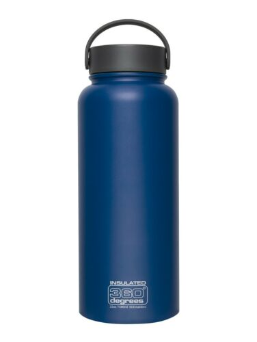 360 DEGREES WIDE MOUTH STAINLESS STEEL VACUUM INSULATED BOTTLE FLASK CANTEEN