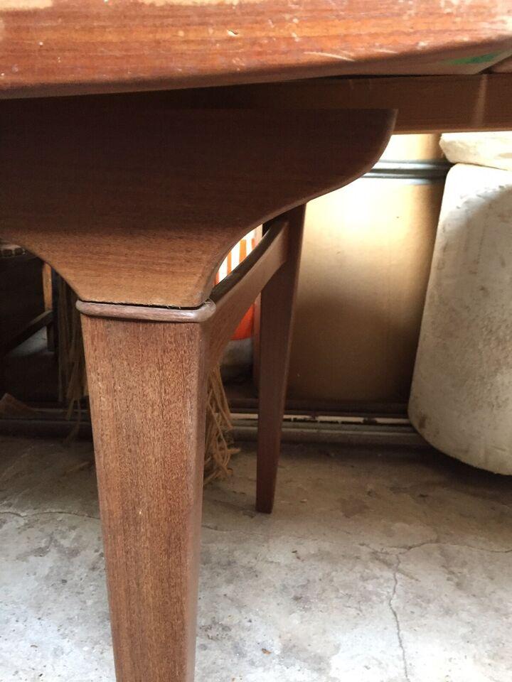Spisebord, Teaktræ, b: 84 l: 144