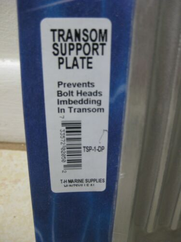 T H MARINE TRANSOM SUPPORT PLATE  TSP1DP