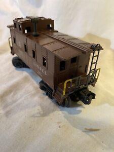 Postwar-Lionel-6457-Caboose-Vintage-1949-No-Light-Nice-Original-O-Model-Train