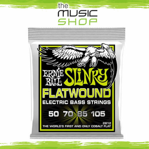 Ernie Ball 2812 Regular Slinky Flatwand Electric Bass Guitar Strings - 50-105