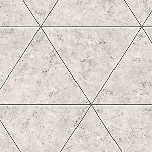 Fine-Decor-FD41760-Gris-Marbre-Pierre-Tuile-Geometrique-Peint-Metallique